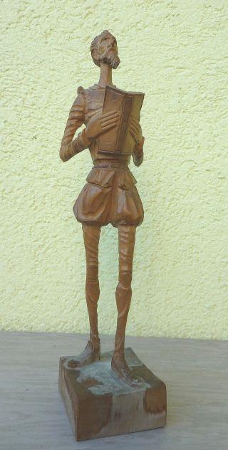 Don Quijote – Holzfigur (1967) Spanien Bild