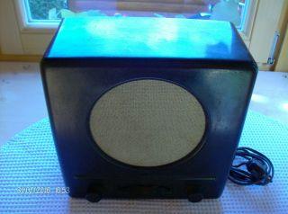 Volksempfänger,  Röhrenradio 6 W Dke 38 Alt,  Funktioniert Recht Gut Bild