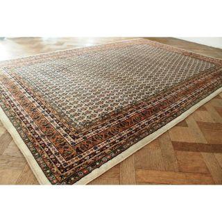 Edel Handgeknüpfter Orient Palast Teppich Blumen Kum Carpet Rug Tapis 300x205cm Bild