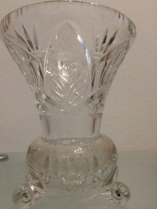 Schwere Bleikristall - Vase Bild