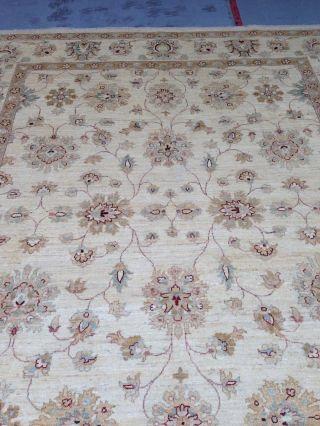 Ziegler Chobi Teppich Neuware 250x300cm Wolle Naturfarben Handgeknüpft Bild