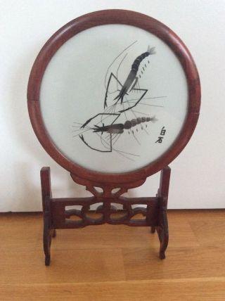 Handgemalter China Deko - Skorpion Bild