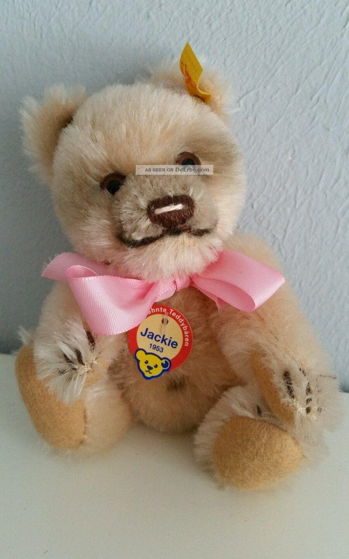 Steiff Jackie Miniatur Bär Teddy Stofftiere & Teddybären Bild