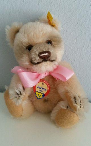 Steiff Jackie Miniatur Bär Teddy Bild