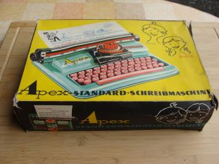 Tipp&co Blechspielzeug - Schreibmaschine Apex 1955 - Top In Ovp Bild