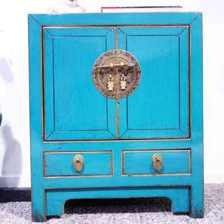 Dj1455 China Kommode Nachttisch Aus Massivemholz 100 Handarbeit. Bild