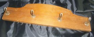 Schlüsselbrett Holz Antik ´´ (aus Opas Fachwerkhaus) Bild