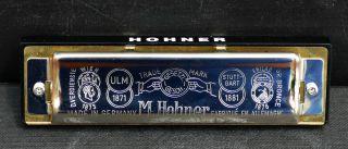 Hohner Mundharmonika Big River Harp In C Mit Ovp Und Kurzanleitung Bild