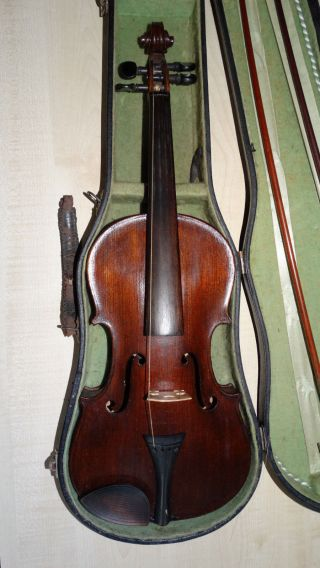 Antique Louis Lowenthal Violin Spicial Copy Of Antonius Stradivarius Violin Bild