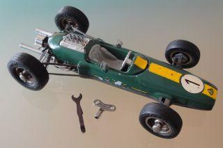 Schuco,  Formel 1 Lotus,  Nr.  1071,  Läuft Gut Mit Schlüssel Bild