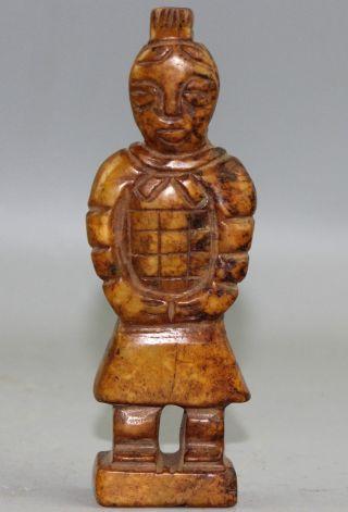 Chinese Jade Statue A1569 Bild