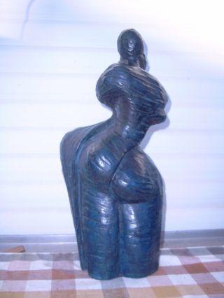 Große43 Cm 13 Kg Bronze Gießereistempel Mon.  B B P.  ? 1/8 Skulptur Paar Bild
