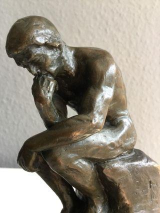 Bronze Skulptur - Der Denker Von Auguste Rodin Bild