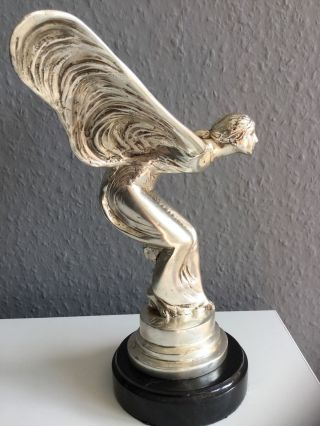 Bronzeskulptur Emily Venus Göttin Bronze Kühlerfigur Figur Skulptur 24,  5 Cm Bild