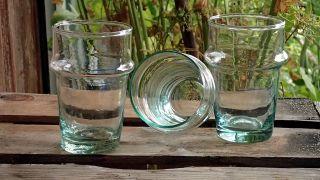 12 TrinkglÄser Aus Marokko,  Mundgeblasen Bild