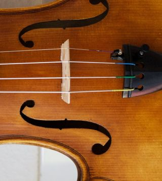 Interesssante Kopie 4/4 Geige Mit Zet.  R.  A.  Gagliano 1859 Old Violin Violon Bild