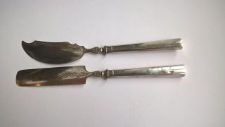 1849 Silber Käse Bestecke Aus Berlin Bild