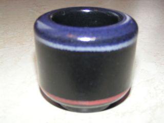 Kmk Kupfermühle Teelichthalter Nigra Color 64972 - 6 Cm Hoch - Bild