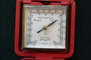 Lufft Reisebarometer - Barometer Mit Höhenmesser Bild