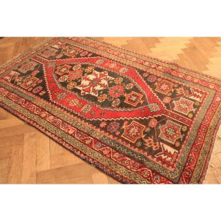 Alt Handgeknüpft Orient Teppich Malaya Ziegler Old Rug Carpet Tappeto 192x125cm Bild