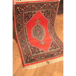 Fein Handgeknüpfter Perser Blumen Palast Teppich Herati Carpet Tappeto Rug Tapis Bild