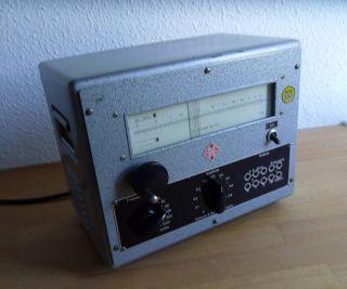 Ddr - Rc Generator Typ Gf2 - Clamann & Grahnert,  Dresden Bild