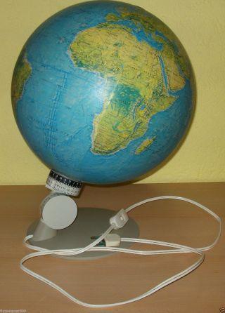 Alter Globus Von Scan - Globe A/s Mit Beleuchtung Und Justierpunkt Leuchtglobus Bild
