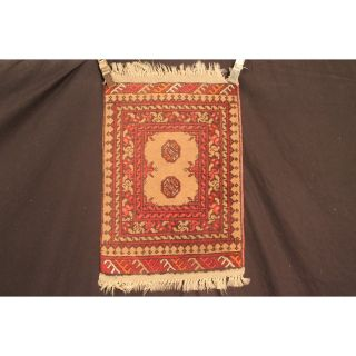 Alter Handgeknüpfter Orient Teppich Afghan Turkman Jomut Old Rug Carpet Tapis Bild