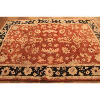 Schöner Handgetupfter Orient Teppich Blumen Ziegler Nain Carpet Tapis 220x150cm Bild
