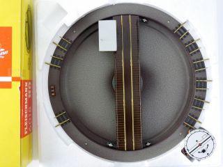 Fleischmann 6018 Elektrische Drehscheibe Modellgleis H0 Ovp Me 1601 - 22 - 09 Bild
