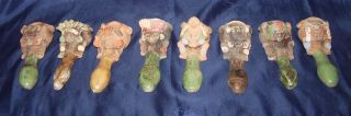 8 Südamerikanische Schamanenpfeife Maya Inka Azteken Vintage 11,  5 Cm Bild