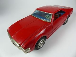Taiyo Made In Japan - Oldsmobile Tornado Aus Blech - 25cm - Tinplate - Muscle Car Bild
