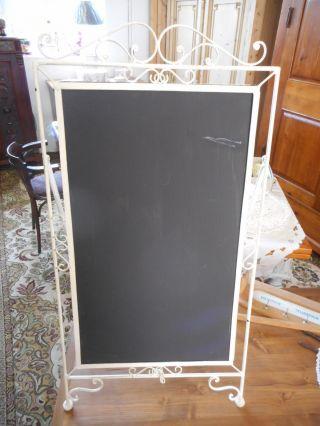 Aufsteller Oder Reklame Tafel In Chabby - Chic Bild