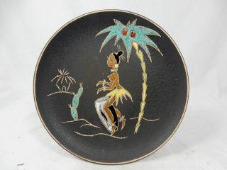 Schöner 50 ´s Design Ruscha Keramik Wall Plate Wandteller