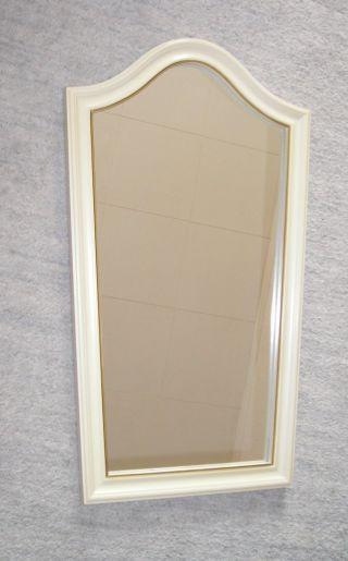 Klassischer Spiegel Wandspiegel Garderobenspiegel Rundbogen Konisch Bild