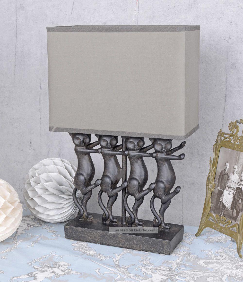 lampe stoffschirm trendy elegante tisch lampe aus keramik. Black Bedroom Furniture Sets. Home Design Ideas
