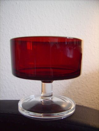 Luminarc Alte Gläser Sektgläser Dessertschalen Rot Bild