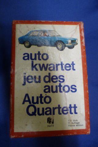 Altes Auto Quartett Von Jumbo 60er Jahre Rarität Bild
