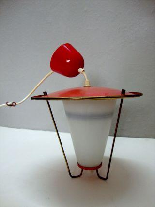 Hängelampe Wandlampe Lampe Design Sputnik Pilzlampe 50er 60er Bild