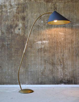 50er Stehlampe Midcentury 50s Floor Lamp Vintage 60er 60s Bild