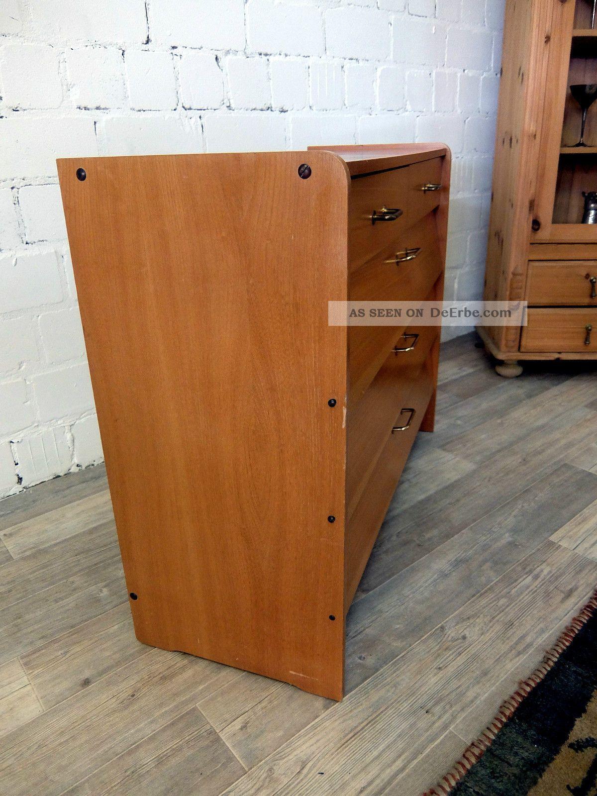 mid century schuhschrank kommode 50er 60er. Black Bedroom Furniture Sets. Home Design Ideas
