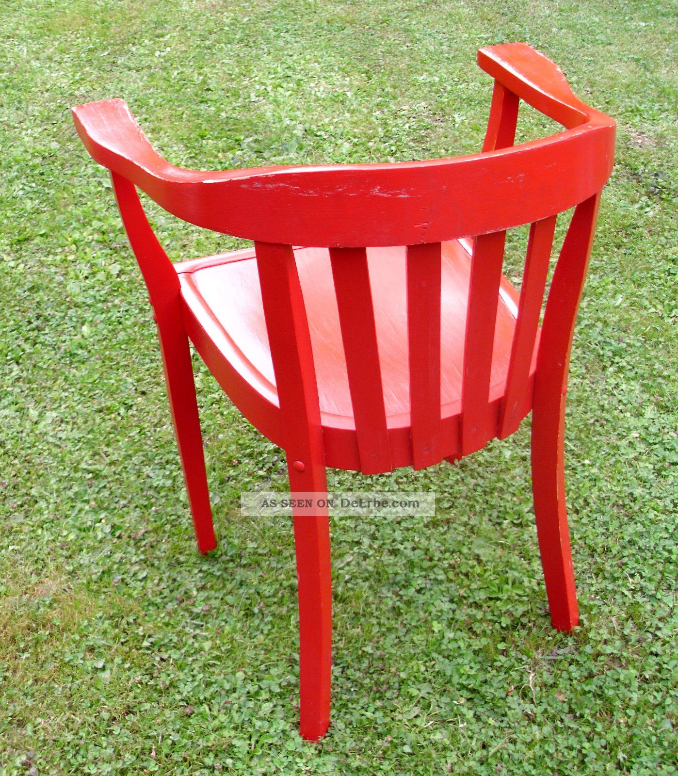 Burostuhl Armlehnstuhl Stuhl Chair Mid Century Art Deco Vintage Stil