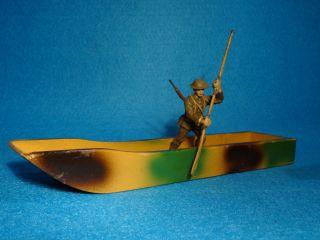 Hausser 7,  5 Cm Maßstab Britischer Pionier Mit Ponton Bild