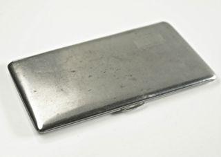 Schöne Zigarettendose,  Metall,  8,  5x14,  5 Cm,  Jugendstil.  (z21) Bild