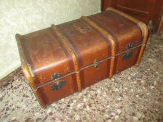 Alter Koffer,  Reisekoffer,  Deutsch Um 1890, Bild