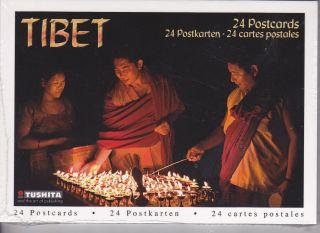Postkarten Tibet 24 Stück Toshita Buddha Dalai Lama Himalaya Nepal Indien Asien Bild