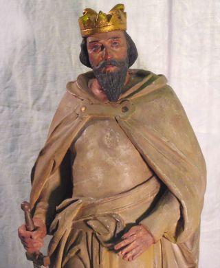 Heinrich Ii. ,  Statue,  1002 - 1024 Deutscher König Und Kaiser,  Bamberg Bild