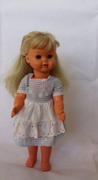 Puppe 3m Drei M Goldchen 61 1100/43 Alte Sammlerpuppe Spielpuppe Vintage Ca 41cm Bild