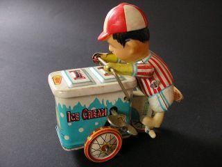 Ice Cream Driver Bleichspielzeug 60er Mechanisch,  SchlÜssel China Bild