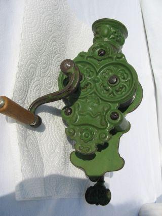 Alter Bohnenschneider Gemüseschneider Schnipsler Gußeisen Kaffeemühle Jugendstil Bild
